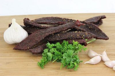 bohemian garlic beef jerky