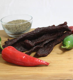 hot spicy beef jerky