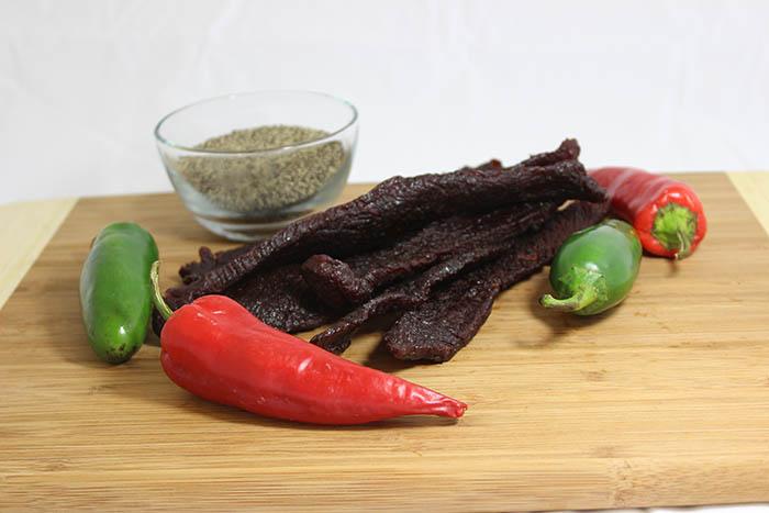 hot spicy beef jerky