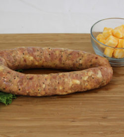 chicken cordon bleu sausage