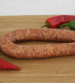 chili pequin sausage
