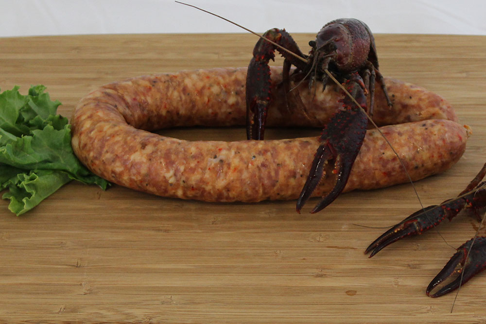 crawfish sausage