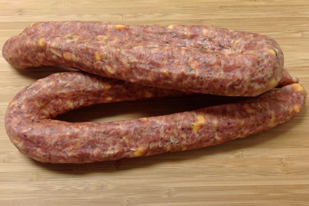 dried sausage links