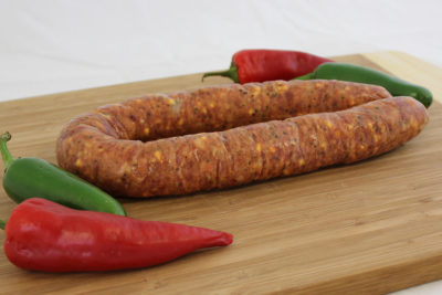 jalapeno cheese sausage and peppers