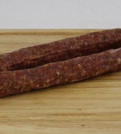 pork beef dried sausage