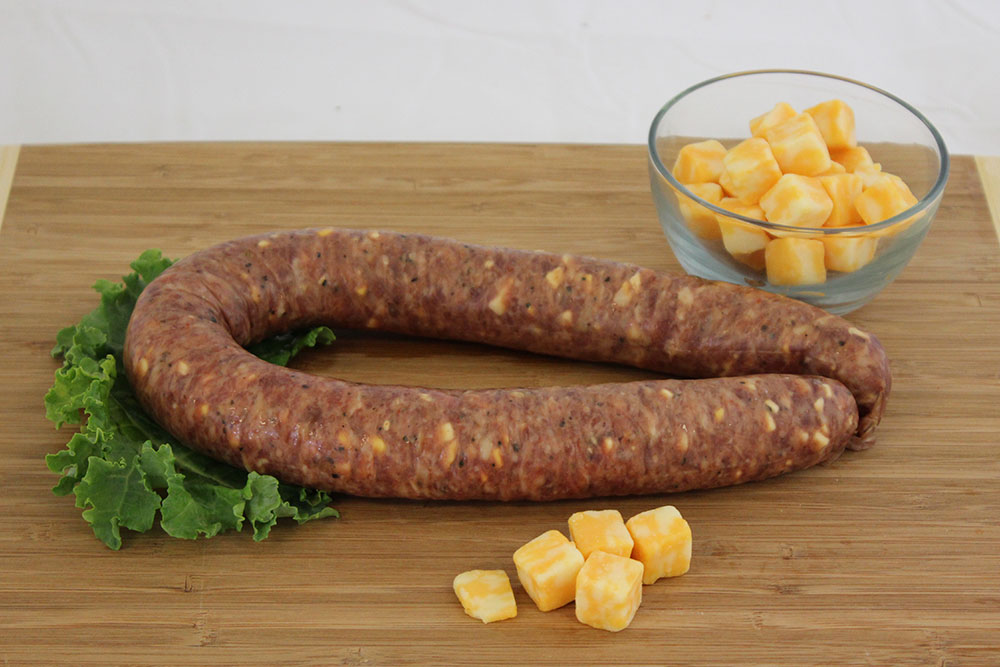 three cheese sausage